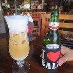カプチーノ&ビール