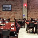 The new location can easily accommodate a large party celebrating a special occasion.