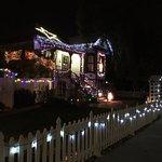 Madison Street Inn during Christmastime