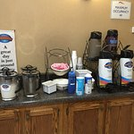 Continental breakfast options