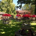 Our lovely beer garden