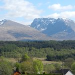 Ben Nevis from the lane