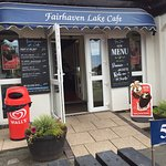 Lunch at Fairhaven Cafe.