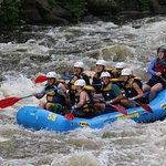 Rafting in Pigeon Forge, TN, July 2016