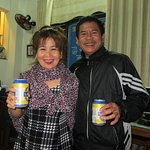 Mrs. Nhan & Mr. Chinh - our wonderful hosts