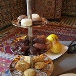 Moroccan dates and cookies