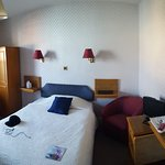 Photo of my room shortly after checking in!