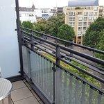 Balkon im Businesszimmer