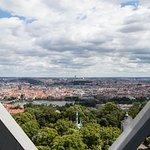 Aussichtsturm Petřínská rozhledna Foto