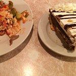 Lasagna and Chocolate Pie