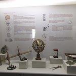 Objetos en el museo.