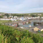 Portpatrick from cliff walk