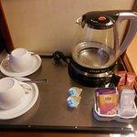 Detalle para tomar té/café