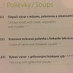 The soups