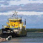 Ferry in the Sea of Aland