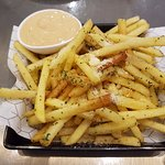 Fries and Dipping Sauce