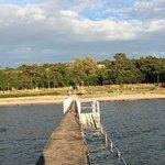 Underbart läge nära Visby med utsikt över havet