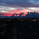 Sunrise from the 31st floor of Oceana B