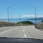 Zufahrt nach Tucepi