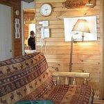 Living area Looney Bin