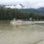 Travelling up the Chilkat River