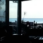 Seaward view from the restaurant