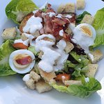 Bacon & chicken caesar salad
