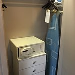 wardrobe with mini safe