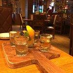 tequila sampling board
