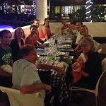 Dinner at Capri!