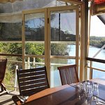 The deck at Mangrove Jacks.
