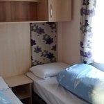 Prestige caravan twin bedroom