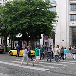 Champs-Elysees Foto