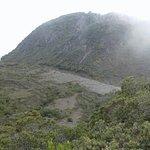En la cima de volcan Baru el punto mas alto de panama