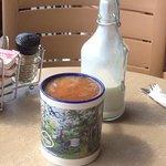 That mug! And the creamer jug is precious, too.
