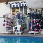 quiter pool and shop were the lovely agness works xx