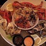 The Grande seafood platter for two