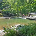 The Millstream With Bathers