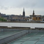 National Museum of Scotland - roof terrace