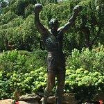 Rocky Statue Foto