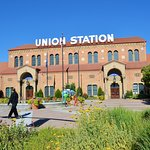 The front of Union Station museum