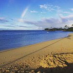 Beach in front of the Kahala