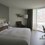 Small but functional room and balcony Marriott Stanton South Beach