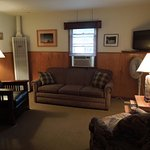 Living area of Cabin #5