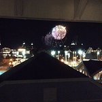 Epcot fireworks from room 4709