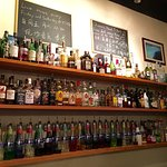 A GREAT selection of spirits and beers