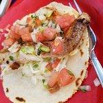 Amazing fish taco