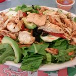 Mia's salad with chicken