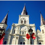 The St. Louis Cathedral is a must see!