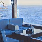 Blue sky, blue sea, tasty breakfast, what can be better for the beginning of the day?